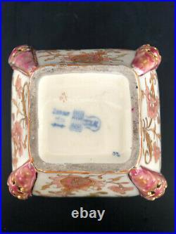 ANCIEN VASE ZSOLNAY PECS CERAMIQUE EMAILLÉE ART NOUVEAU H 10 cm