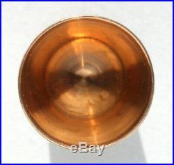 ART NOUVEAU ancien dé à coudre OR MASSIF jaune 18 carats Couture GOLD thimble