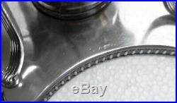Grand SAMOVAR ancien en métal argenté orfèvrerie PHENIX